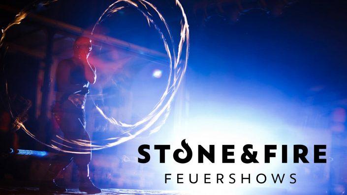 Feuershow Ston&Fire - Solo Knut Semrau - Jonglage mit Feuertöpfen