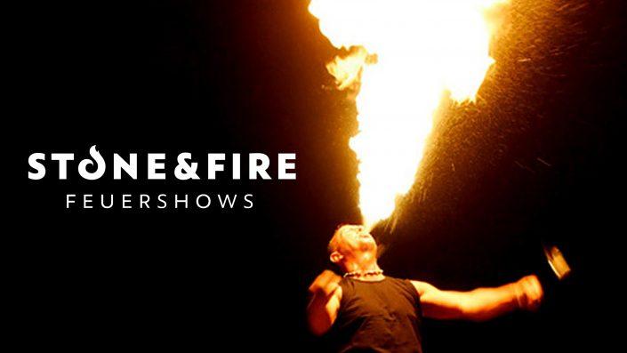 Feuershow Ston&Fire - Feuer speien - Knut Semrau
