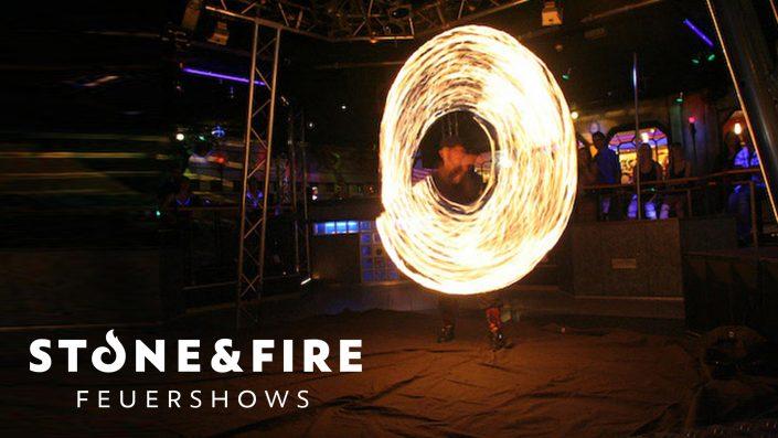 Feuershow Ston&Fire - Auftritt